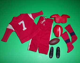 """Vintage Ken """"Touchdown Football"""" Complete Outfit #799"""