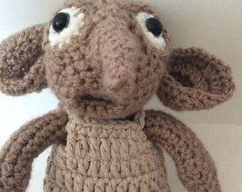 Crochet Dobby Elf