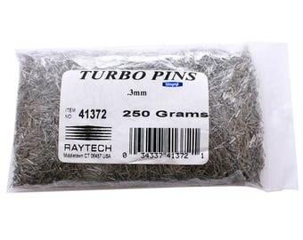 Raytech Magnetic Tumbling Turbo Pins 0.3mm (0.5lb) Jewelry Burnishing Polishing WA 255-260