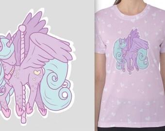Carousel Alicorn TShirt