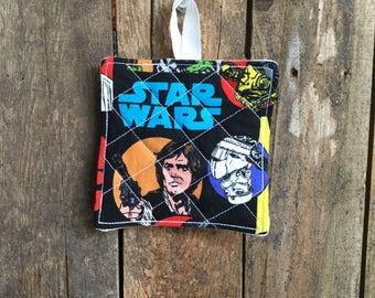 Child's Hot Pad (matches Apron and Oven Mitt play set), Star Wars teal