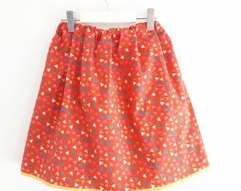 Red skirt for little girl