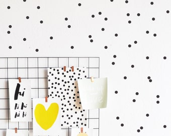 Wall decal - Extra Tiny Dots - Wall Sticker - Room Decor - Wall Decor