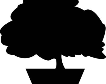 Bonsai Tree Vinyl Wall Art Sticker