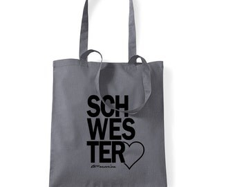 sisterHeart - Jute bag