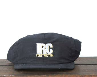 Vintage IRC Construction Contractor Building Minimal Trucker Hat Snapback Baseball Cap