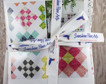Nana's Afghan Quilt Pattern Fabric Kit - Moda - V and Co - Vanessa Christenson - VC1241