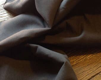 One Metre of Charcoal Linen Blend  Upholstery & Furnishing  Fabric -  137 cms - 350 gsm