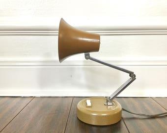 Vintage Task Lamp Portable Gooseneck Desk Light Adjustable