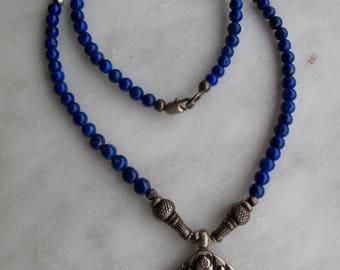 Vajrakalaya and Lapis protected Necklace