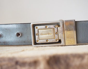 10% off * Vintage Christian Dior belt-80's