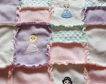 Cuddlesoft Princess blanket