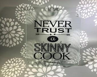 Personalized cutting board, glass cutting board, trivet, cheese board, kitchen decor, custom cutting board