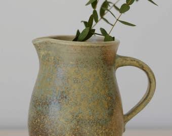 Vintage Pitcher Vase West German Pottery