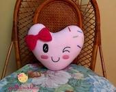 Heart Cushion galletacoketa pink