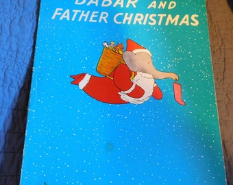 Babar and Father Christmas by Jean De Brunnoff