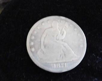 1871 S Half Dollar