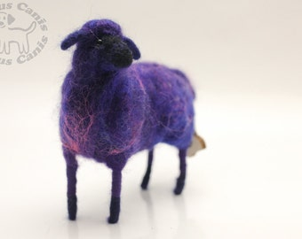 Needle felted Sheep; mini FFS collection #23