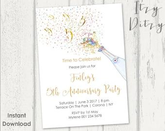 abschlussfeier einladung vorlage mit einer quaste design, Einladungen