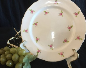 H015  Rose Buds Royal Stafford Plate