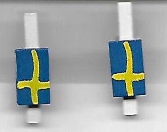 Swedish Mini Clothes Pins; Box of 24