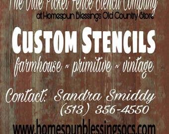 CUSTOM STENCIL design proof
