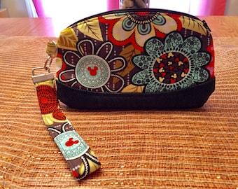 Vera Bradley Disney Handmade Wristlet - 9 Fabrics to Choose From!