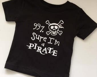 PIRATE Shirt/Baby and Toddler Tees or ONEsies