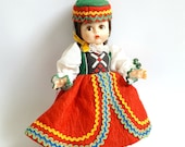Vintage Madame Alexander Doll, Friends From Foreign Lands Series - Czechoslovakia