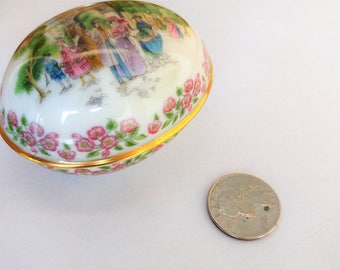 Vintage Lenox Easter Egg / Lenox  Items / Easter Egg / Collectible Eggs / Vintage Eggs / Porcelain Egg / Porcelain Items /