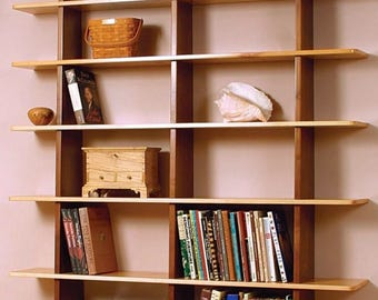 Knockdown Bookcase Woodworking Plans