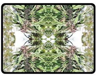 Fleece Blanket: Marijuana Blanket in Williams Wonder Marijuana Print, Bed Blanket, Cannabis Blanket- MADE TO ORDER