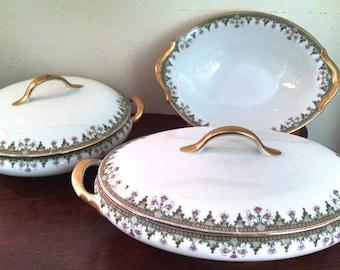 Vintage Limoges Serving Set