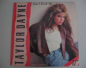 Taylor Dayne  -  Don't Rush Me - Circa 1987
