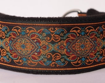 Comfortable, soft&cosy whippet martingale collar. Width - 5.5cm/2,2''.
