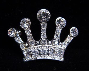 "Style # 16061 - High Ruler Crown Pin - 1"" Tall"