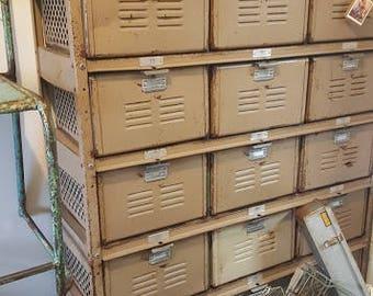 Vintage Worley & Co. Locker System
