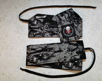 Zombies, Walking Dead, Wrist Wraps, WOD, Weightlifting, Athletic