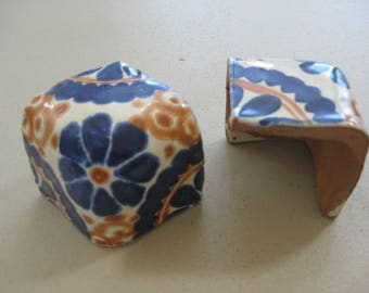 4-Large Elbow Various Talavera Tile in 1.5x1.5x1.5 (4)