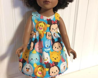 Dress for 18 inch doll can fit American Girl, Journey Girl and other