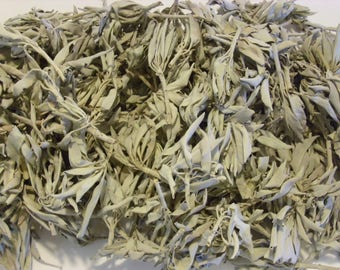 California White Sage Smudge Loose Cluster Incense Bulk (1/2 Pound)