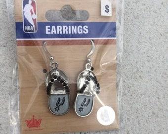 San Antonio Spurs Chancla Earrings