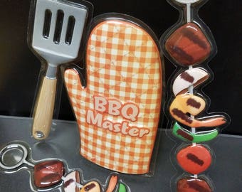 Barbeque master cake layon