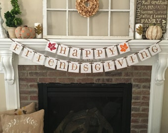 Thanksgiving Decor Friendsgiving Happy Thanksgiving Thanksgiving Decoration Thanksgiving Sign Thanksgiving Banner