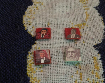 Random Famous Faces Magnet Tiles