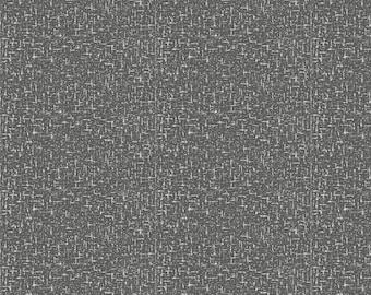 Dark Gray Heather Organic Fabric - By The Yard - Girl / Boy / Gender Neutral
