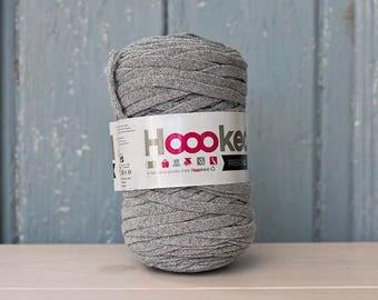 RibbonXL with sparkling Lurex Silver edition,  Cotton Yarn XL, Recycled Cotton Yarn, Knitting, Crochet, Glitter yarn