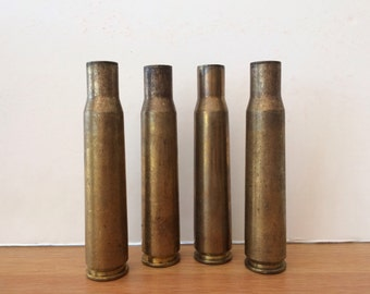 Brass Shell Casing Spent Bullet Shell Ordnance Brass Casing 50 Caliber