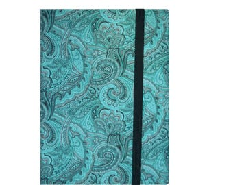Kindle Paperwhite Cover, Kindle Case, Kindle Fire HD 6 7 8 Case, Paperwhite Case, Kindle Voyage, Nook Glowlight Plus, Turquoise Paisley Dots