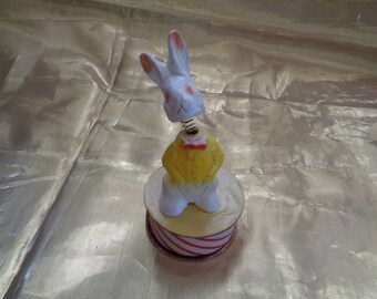 1940's German Bobble head bunny rabbit